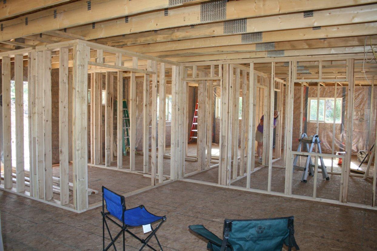 Interior Walls, Roof Metal U0026 Stucco