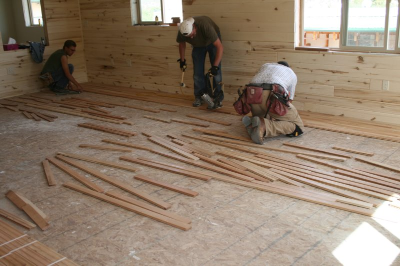 Cherry hardwood floor installation hardwood is in living Wood floor installer
